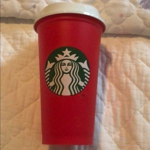 Starbucks holiday cup. Used once!
